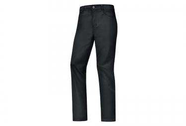 pantalon coupe vent gore bike wear element urban windstopper noir