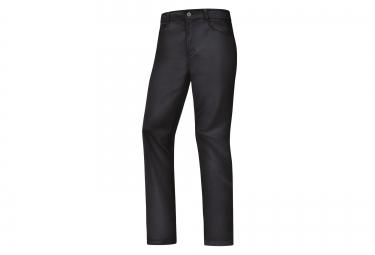 pantalon coupe vent gore bike wear element urban windstopper raven brown