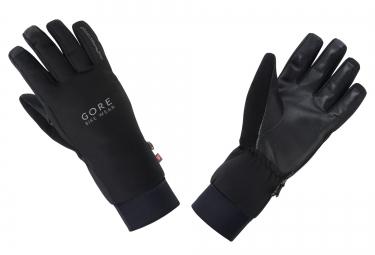 gants hiver gore bike wear universal windstopper noir