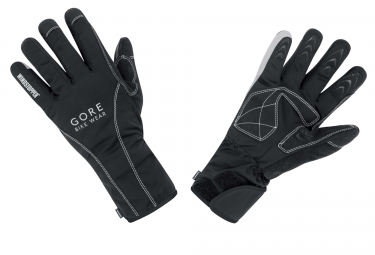 gants hiver gore bike wear road windstopper thermo noir
