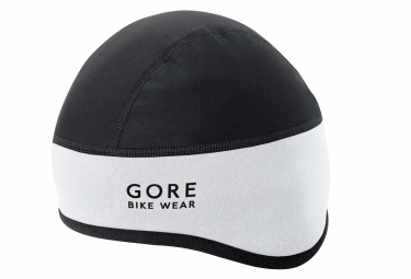 sous casque gore bike wear universal windstopper noir blanc