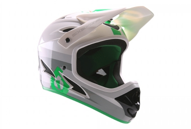 661 sixsixone casque integral comp gris vert 2017
