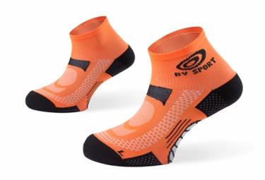 chaussettes basses bv sport scr one orange
