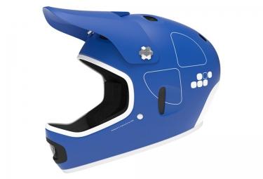 casque integral poc cortex flow bleu clair