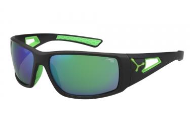 cebe paire de lunettes session noir mat vert 1500 gris