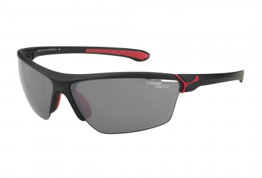 cebe paire de lunettes cinetik noir mat rouge 1500 grey