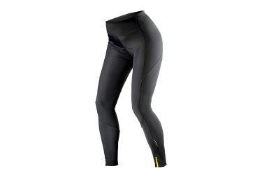 cuissard long femme sans bretelles mavic aksium thermo noir 2017