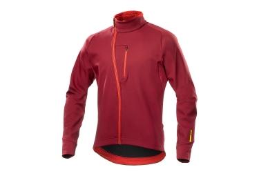 veste thermique mavic aksium thermo rouge 2017