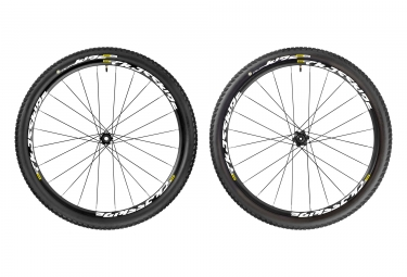 paire de roues mavic 2017 crossride ust wts 29 boost 15x110mm 12x148mm corps shimano