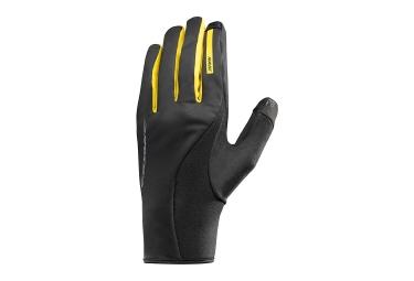 paire de gants hiver mavic cosmic pro wind noir 2017