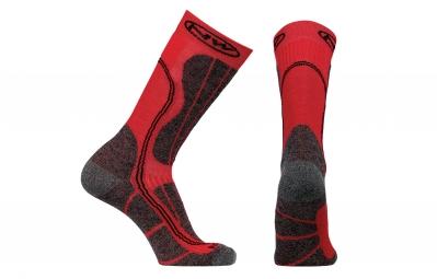 chaussettes hiver northwave husky ceramic tech rouge noir