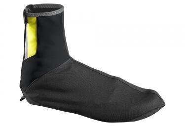 couvre chaussures mavic vision noir jaune