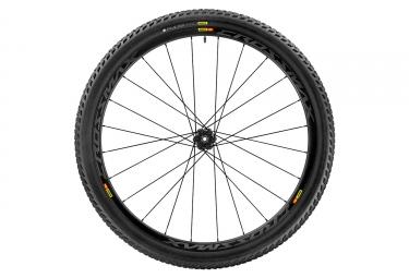 roue arriere mavic 2017 crossmax pro carbon wts 29 12x142 mm corps shimano sram pneu