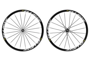 paire de roues piste mavic ellipse 2016