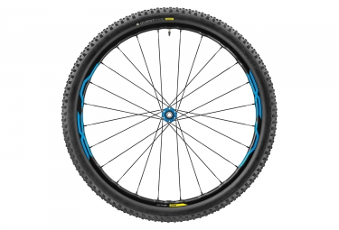 roue avant mavic 2017 xa elite 27 5 15mm quest pro 2 4 bleu