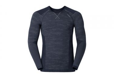 sous maillot odlo blackcomb evolution warm bleu