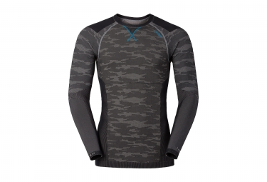 sous maillot odlo blackcomb evolution warm gris noir