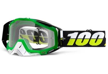 masque 100 racecraft simbad vert ecran transparent