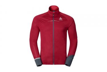 veste coupe vent deperlant odlo zeroweight rouge