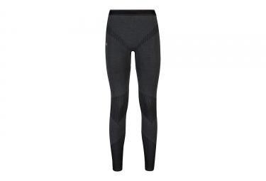 sous pantalon femme odlo evolution warm serie limitee 70 ans gris noir
