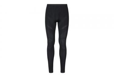 sous pantalon de compression odlo muscle force evolution warm noir gris