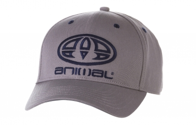 casquette animal magen gris