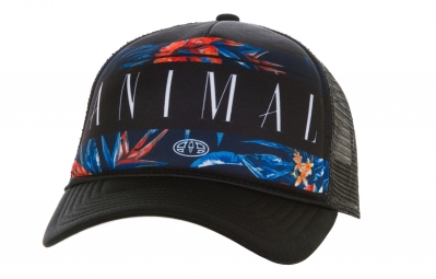 casquette animal willbert noir