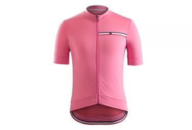 maillot bontrager classique rose
