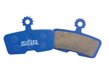 a2z paire de plaquettes avid elixir trail x0 trail et guide metallique az 293