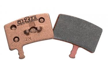 a2z paire de plaquettes hayes stroker trail metalliques