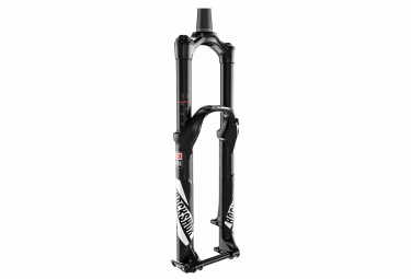 rockshox 2016 fourche pike rct3 27 5 axe 15 mm dual position air 130 160 conique noir