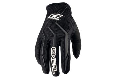 gants longs oneal element noir