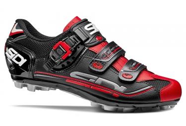 chaussures vtt sidi eagle 7 noir rouge