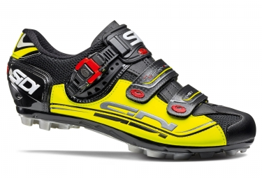 chaussures vtt sidi eagle 7 noir jaune