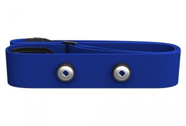 ceinture cardiaque polar soft strap bleu