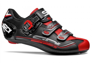 chaussures route sidi genius 7 noir rouge 2017
