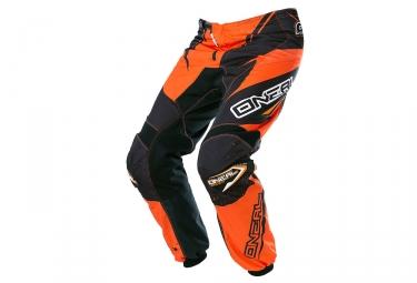 pantalon enfant oneal element racewear orange noir