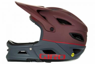 casque avec mentonniere amovible giro switchblade mips rouge gris