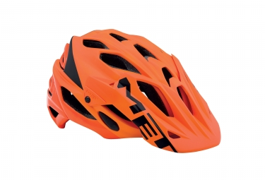 casque met parabellum orange