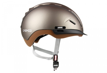 casque casco roadster tc marron