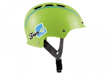 casque bol casco enfant fun generation vert