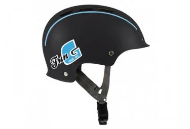 casque bol casco enfant fun generation noir bleu