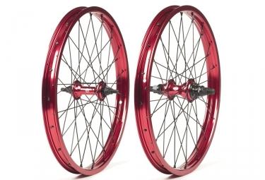 paire de roues salt valon rouge