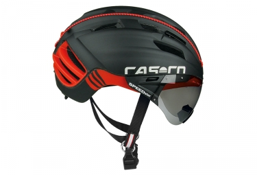 casque aero casco speedster tc plus noir rouge