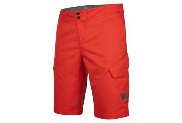 short avec peau fox ranger cargo 12 rouge