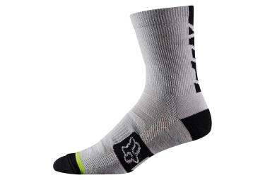 paire de chaussettes fox merino wool 6 gris