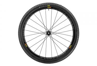 roue avant mavic 2017 crossmax pro carbon 29 lefty 60 supermax pneu pulse 2 25