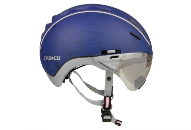 casque casco roadster tc bleu