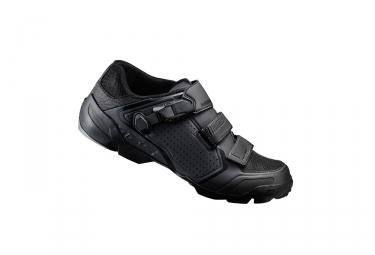 paire de chaussures vtt shimano 2017 me500 noir