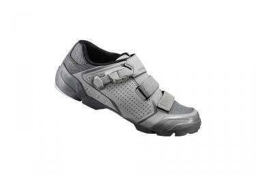 paire de chaussures vtt shimano 2017 me500 gris